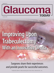 Surgical pearls and praise for the device that's bringing glaucoma filtration surgery into the 21st century.
