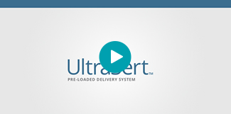 Watch this short animation to learn more about the UltraSert™ Delivery System.