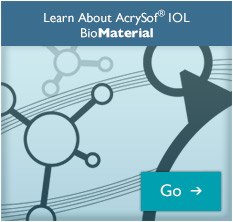 Learn about AcrySof® IQ BioMaterial.