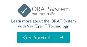 The ORA™ System with VerifEye+™ Technology provides a guide and validation for cataract refractive surgery.