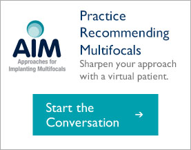 Practice recommending multifocal IOLs