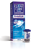 CLEAR CARE® Plus Contact Lens Solution